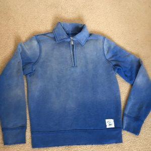 New Hollister men's half zip sweatshirt size S